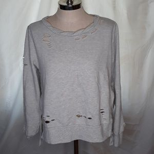 Romeo + Juliet Couture sweatshirt Distressed Bin6